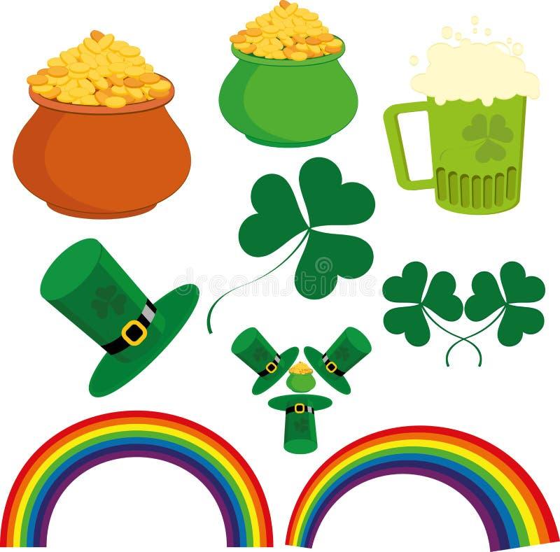 Saint Patricks Day royalty free illustration