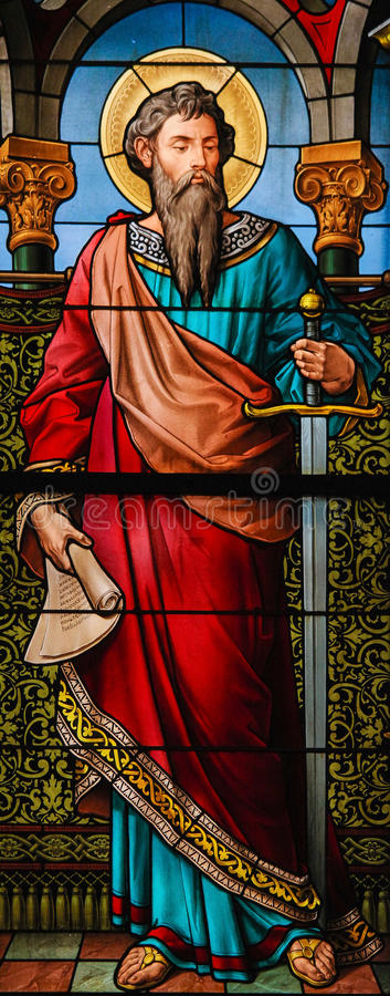 Saint Paul the Apostle stock photos