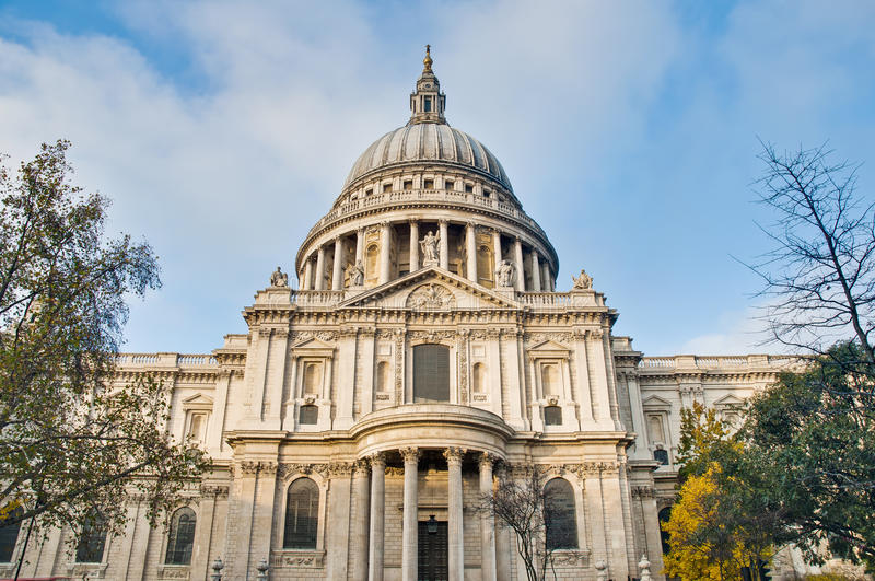 Download Saint Paul Cathedral At London, England Stock Image - Image: 22506179