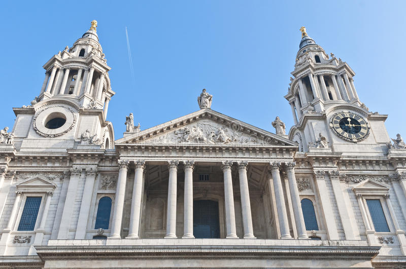 Download Saint Paul Cathedral At London, England Stock Image - Image of british, cityscape: 39510615