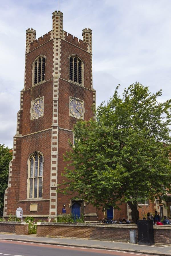 Saint Paul Church of Cambridge stock image
