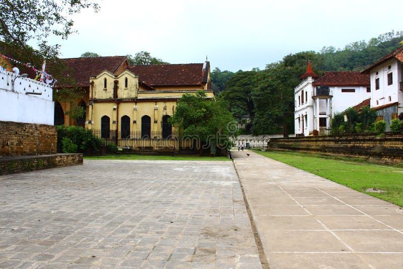 Saint Paul Church, Kandy, temple de la dent photographie stock