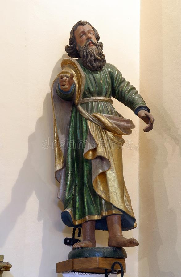 Saint Paul de Apostel royalty-vrije stock afbeeldingen