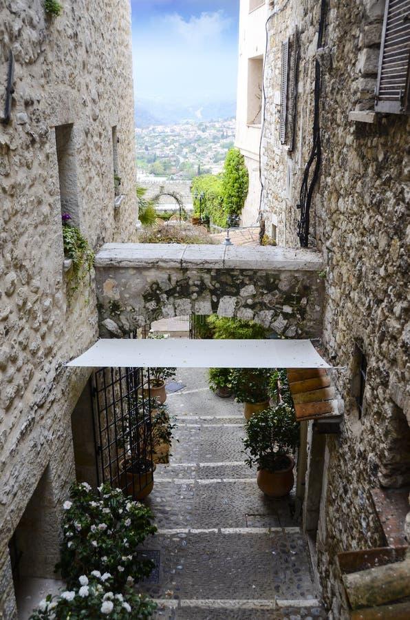 Saint Paul De Vence Francja zdjęcie royalty free