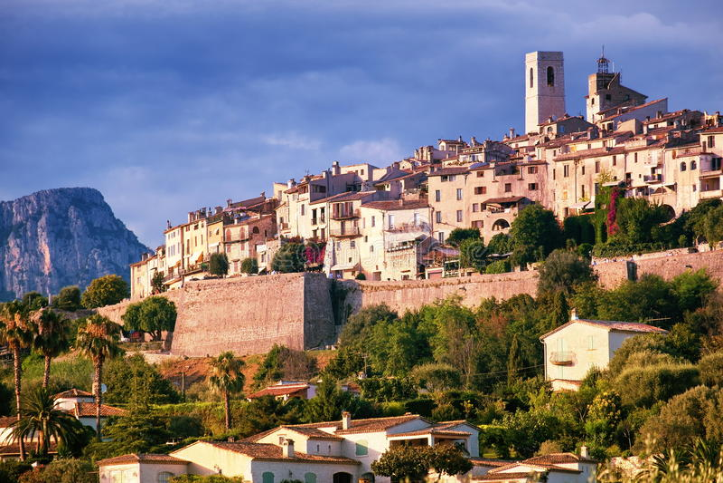 Saint Paul de Vence, Provence, France stock images