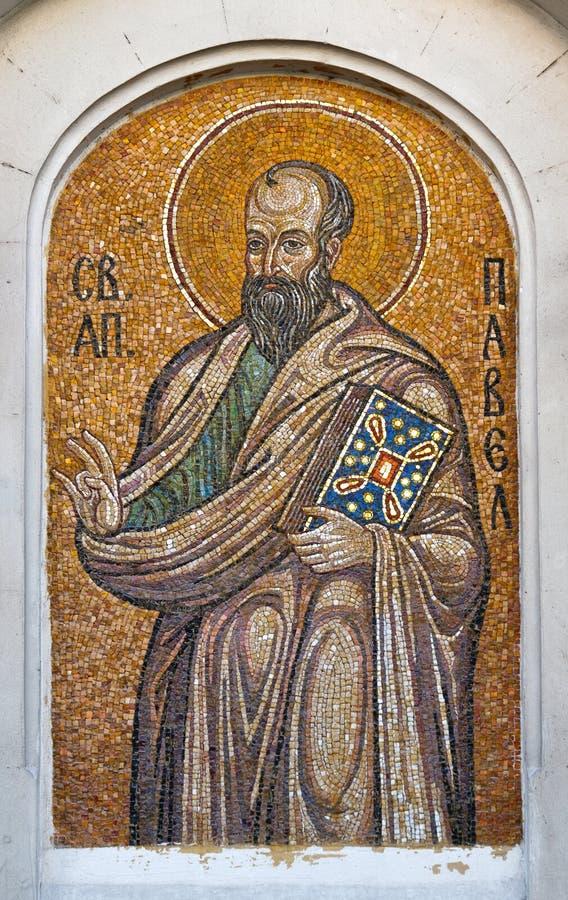 Saint Paul der Apostel stockfotos
