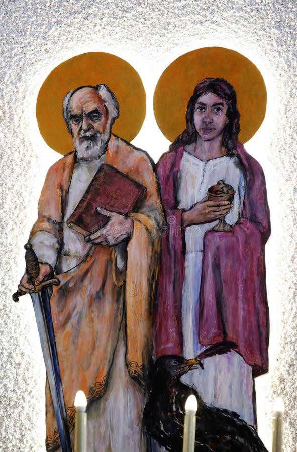 Saint Paul e Saint John immagini stock
