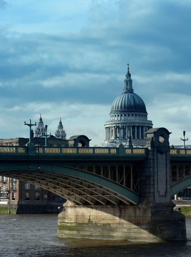 Saint Paul, London stock image
