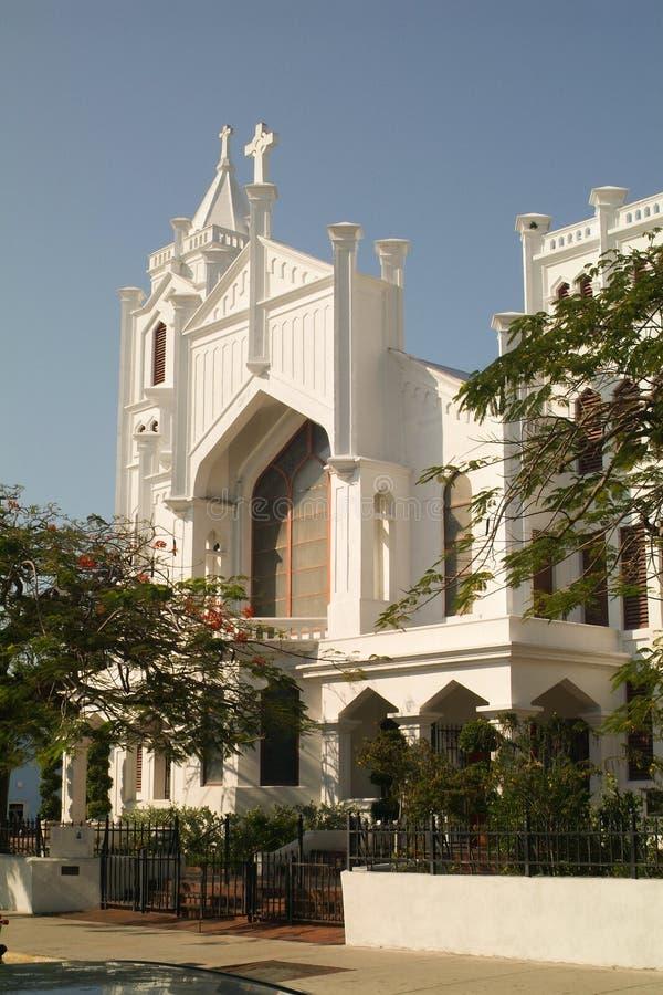 Saint Paul-` s Episkopale Kirche Key West stockbild