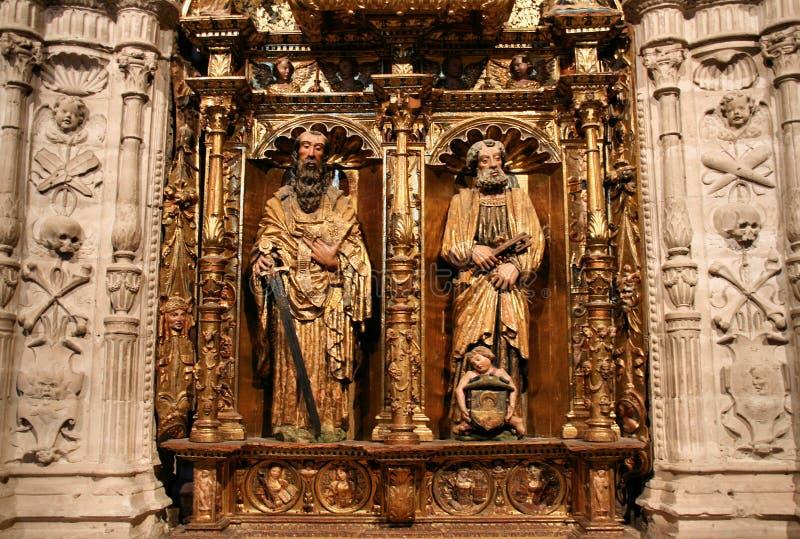 Saint Paul and Saint Peter royalty free stock photography