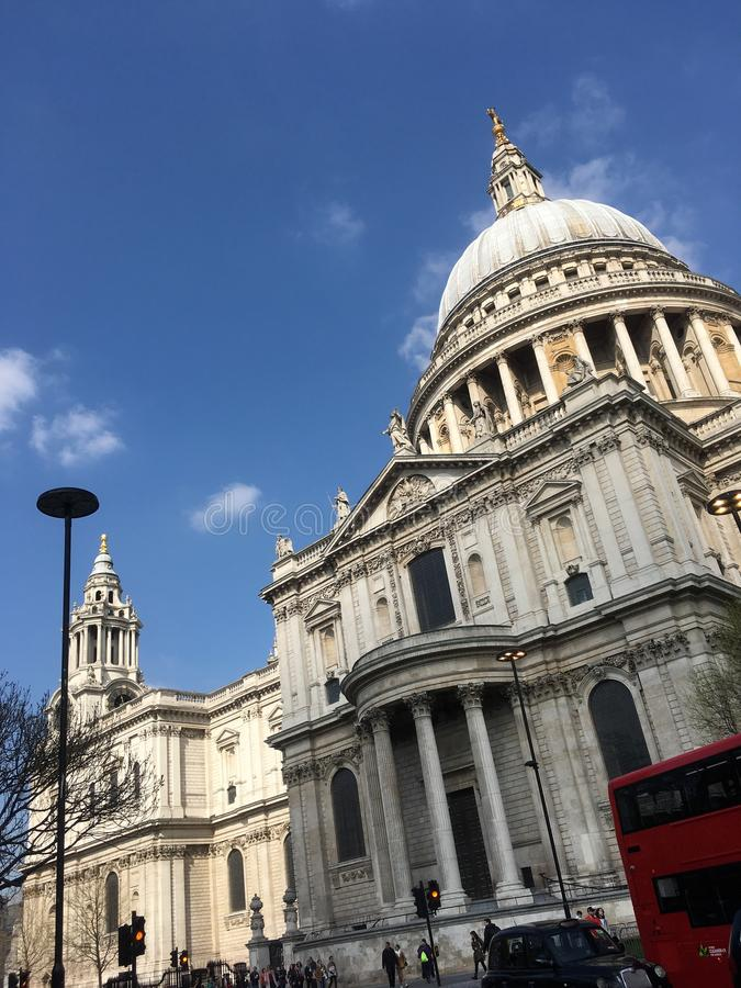 Saint Paul u. x27; s-Kathedrale, London stockfotografie