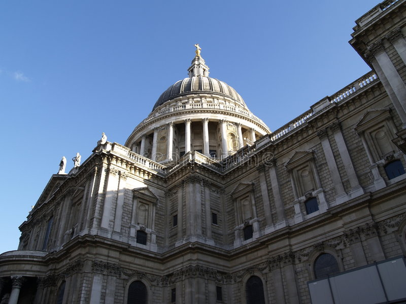 Download Saint Pauls Cathedral stock image. Image of christ, building - 614905