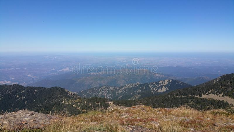 Saint pere rodes royalty free stock images