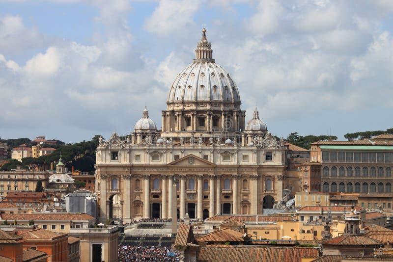 Saint Peter Basilica stock photography