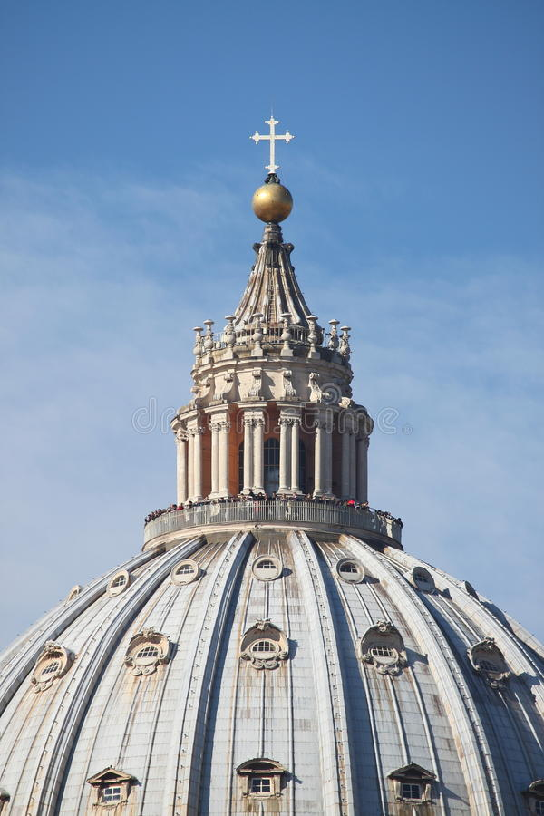 Saint Peter cathedral dome stock images
