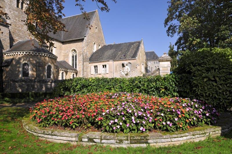 Saint Peter d'abbaye chez Solesmes en France photo libre de droits