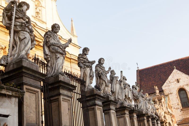 Saint Peter e Paul imagem de stock