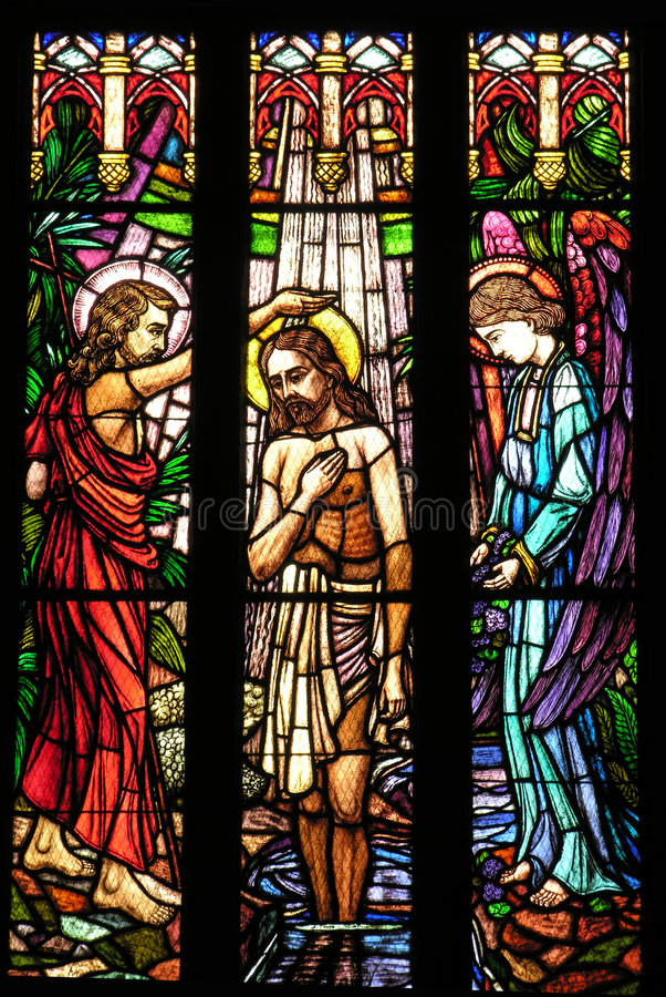 Saint Peter ? hublot en verre stainded par cathédrale de s photographie stock