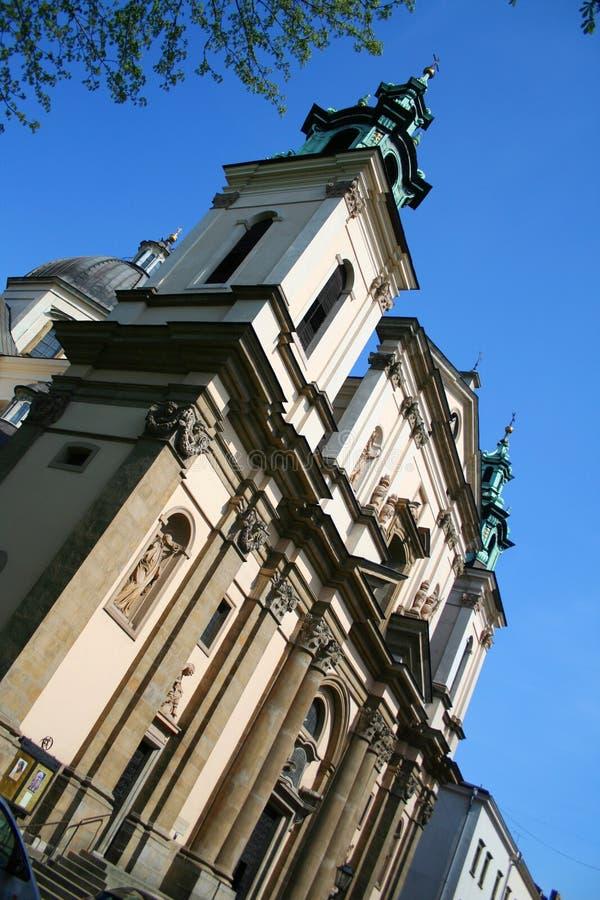Saint Peter and Paul Temple. Krakow. Poland. royalty free stock photos