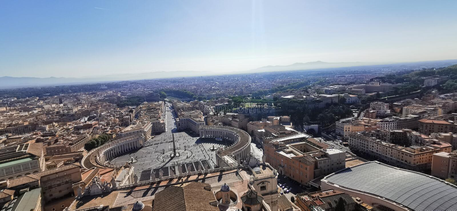 Saint Peter's Basilica in Vatican city Rome Italy. Peters royalty free stock photos