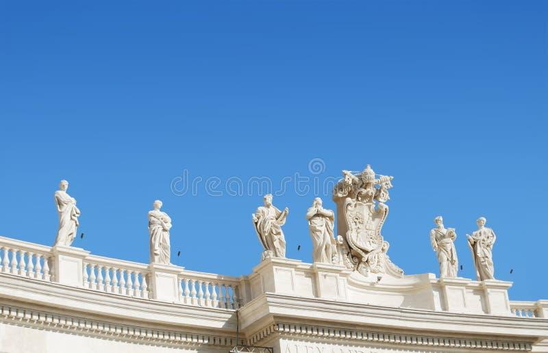 Saint Peter Sculptures fotografia de stock