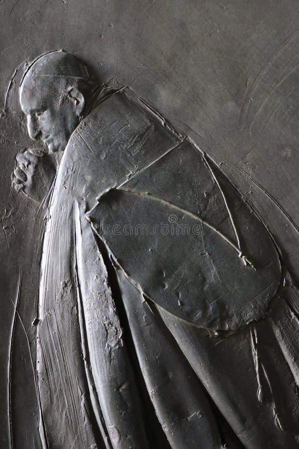 Saint Peter in the Vatican stock image