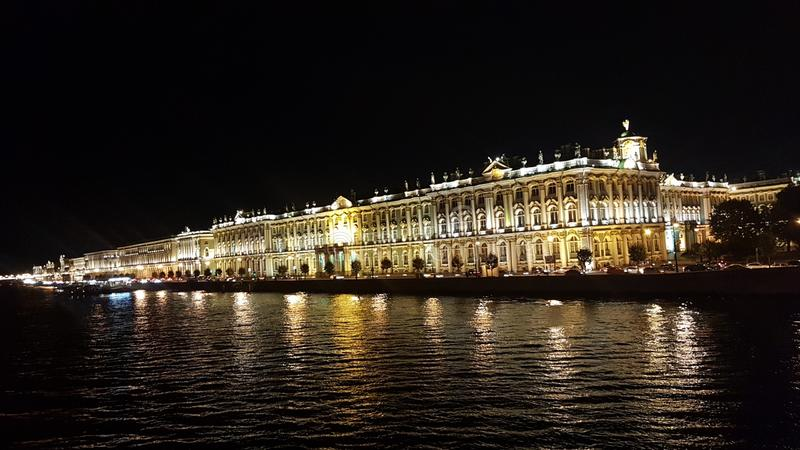 saint petersburg obraz royalty free