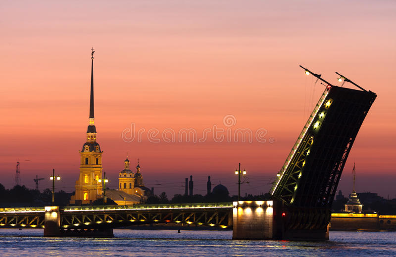 Saint-Petersburg royalty free stock photo