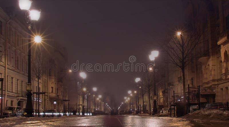 Saint-Petersburg. Furshtatskaya. stock photo