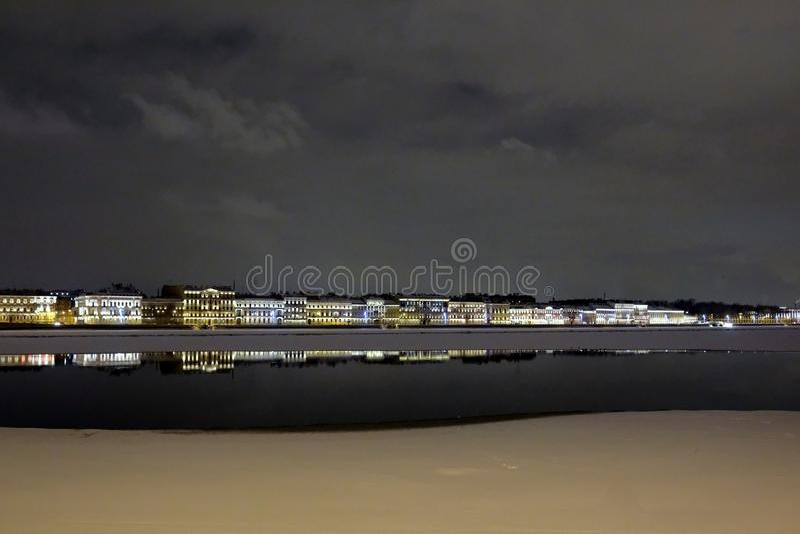 Saint Petersburg. Neva embankment royalty free stock photos