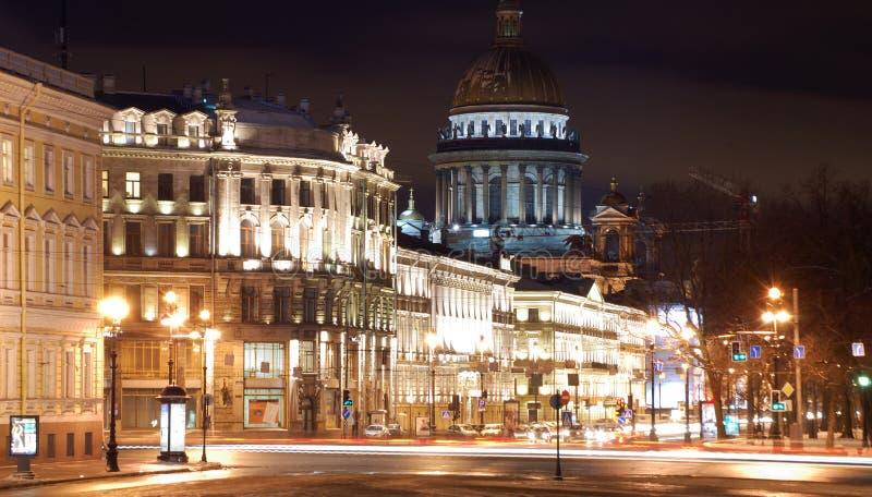 Download Saint-Petersburg In The Nighttime Stock Image - Image: 8328825