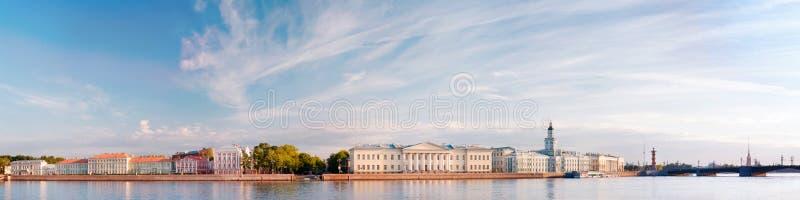 Saint Petersburg panaromic landscape royalty free stock photo