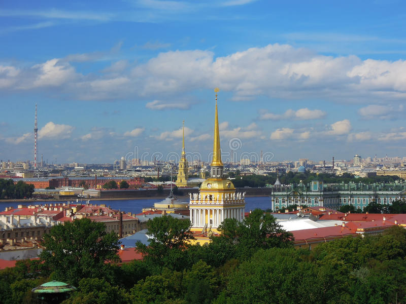 Saint-Petersburg, Russia, Peter and Paul Fortress royalty free stock image