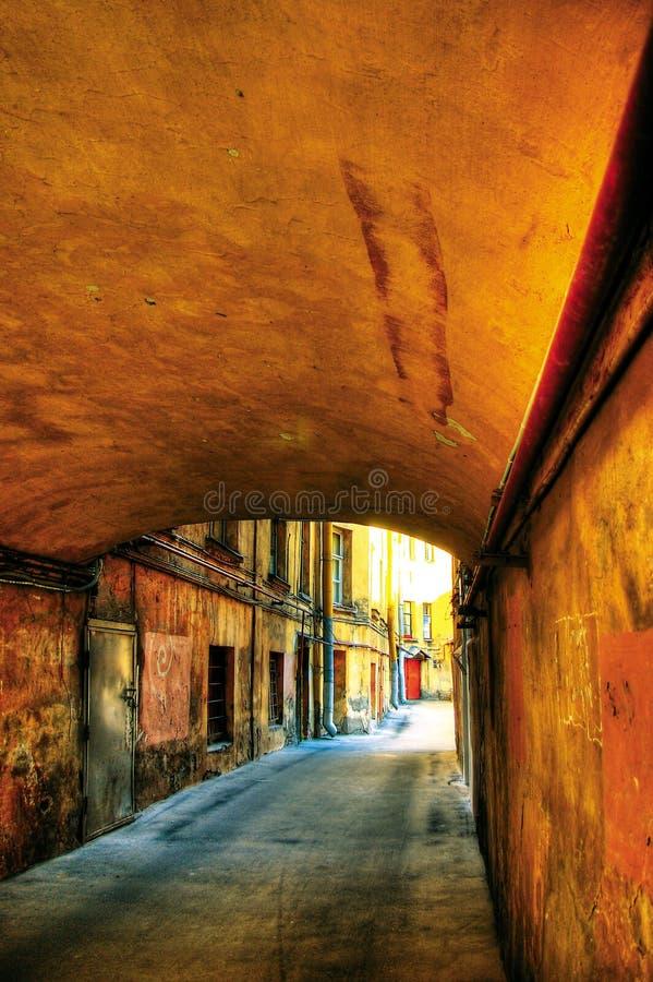 Download Saint Petersburg's Courtyard Stock Image - Image: 9257469