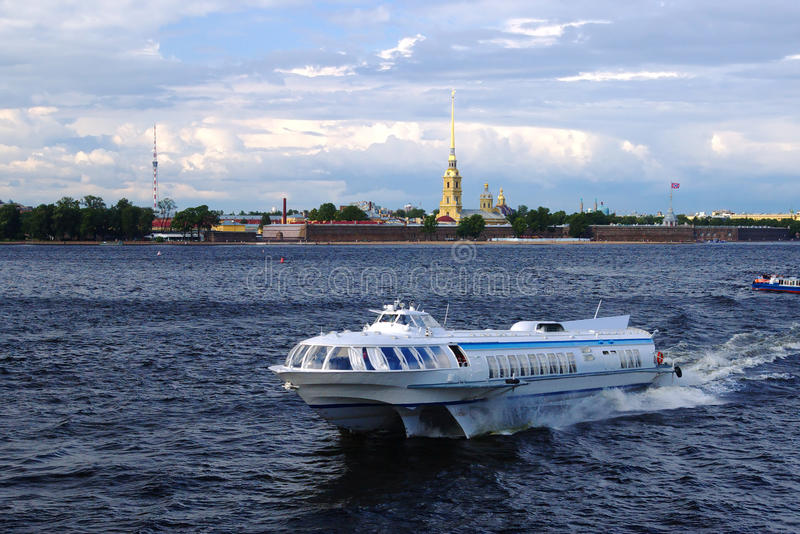 Download Saint Petersburg Ship stock image. Image of russia, travel - 12479027