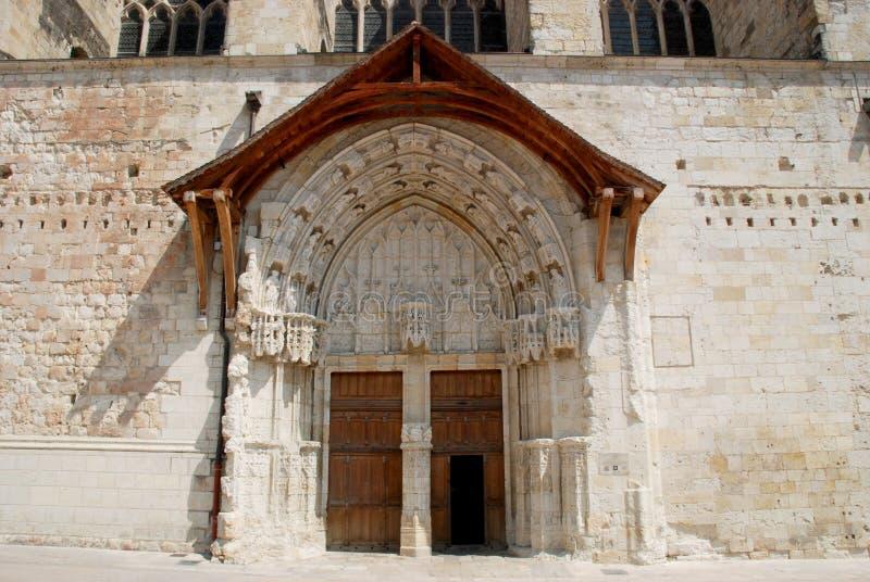 Saint-Pierre DE Condom kathedraal royalty-vrije stock foto's