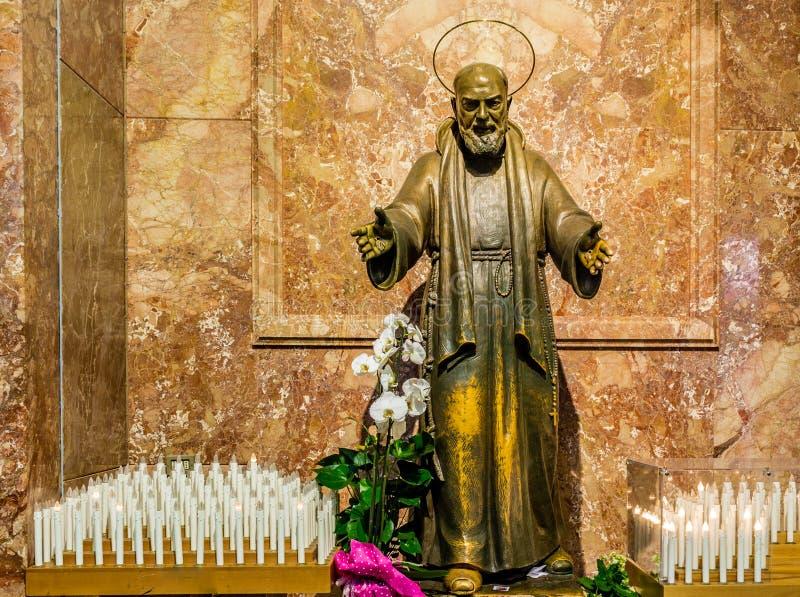 Saint Pio de Pietrelcina image stock