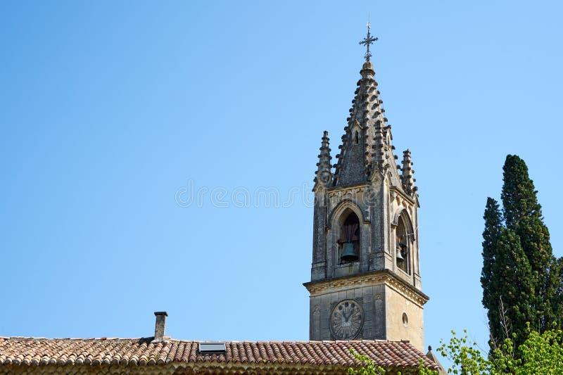 Saint Roch Church Aigueze France royalty free stock photo
