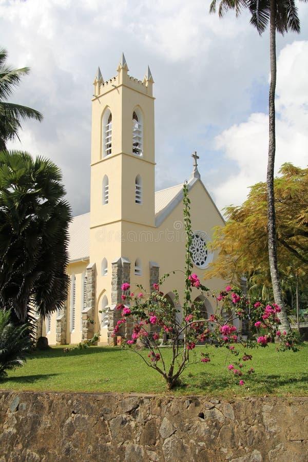 Saint Roch church stock photos
