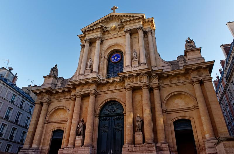 Saint roch church in Paris royalty free stock images