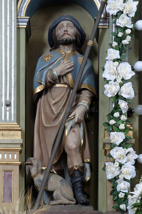 Saint Roch royalty free stock photo