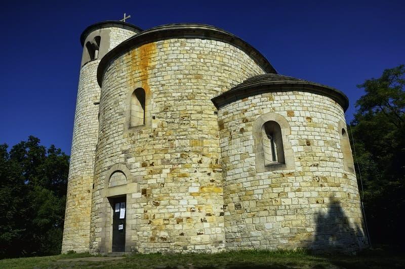 Saint rotunda Jiri un saint Vojtech photos libres de droits
