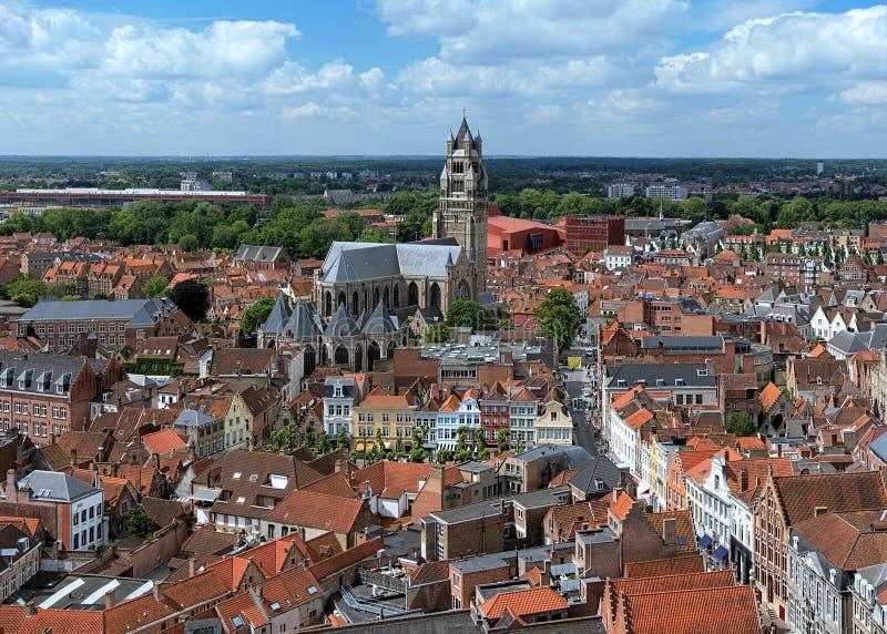 Download Saint Salvator Cathedral In Bruges, Belgium Stock Photo - Image: 25450654
