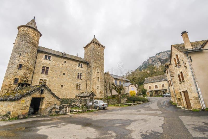 Saint Saturin de Tartaronne, França foto de stock