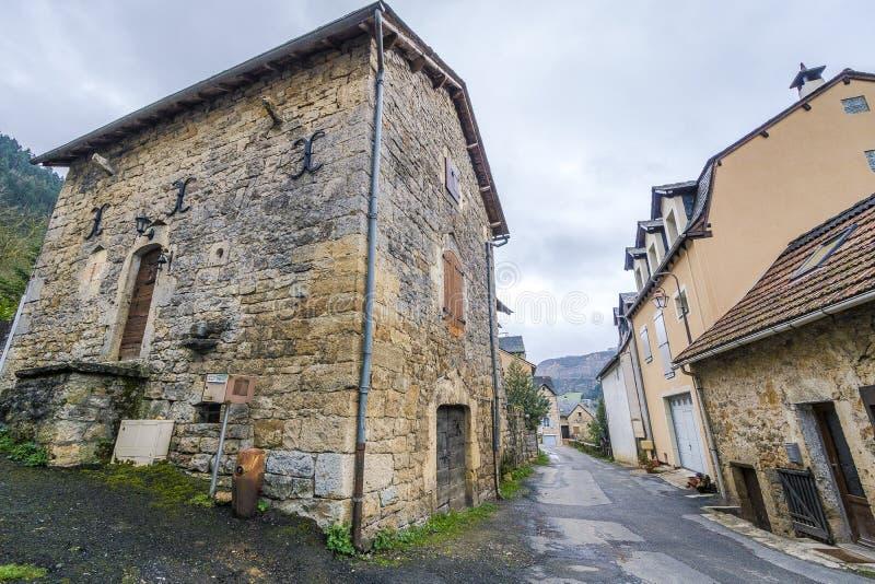 Saint Saturin de Tartaronne, França fotografia de stock royalty free
