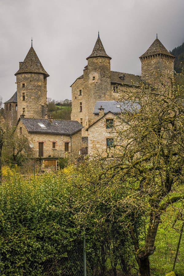 Saint Saturin de Tartaronne, França imagem de stock royalty free