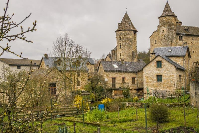 Saint Saturin de Tartaronne, França imagem de stock