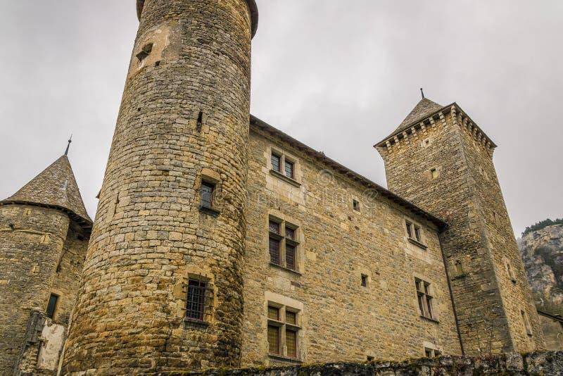 Saint Saturin de Tartaronne, França fotos de stock