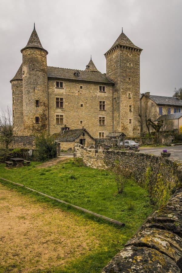 Saint Saturin de Tartaronne, França fotos de stock royalty free