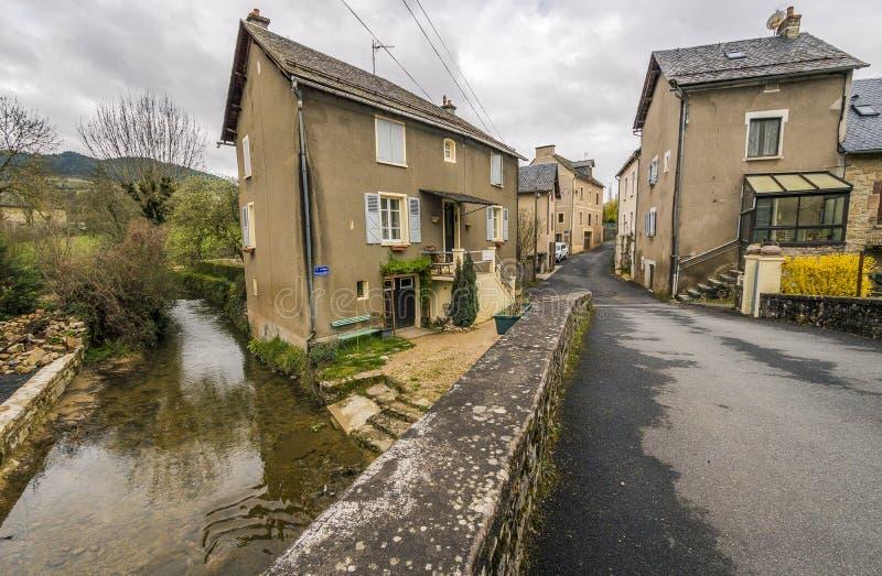 Saint Saturin de Tartaronne, França imagens de stock royalty free